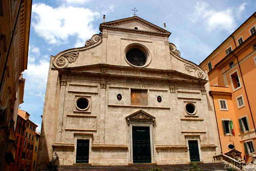 Sant'Agostino Church in central Rome