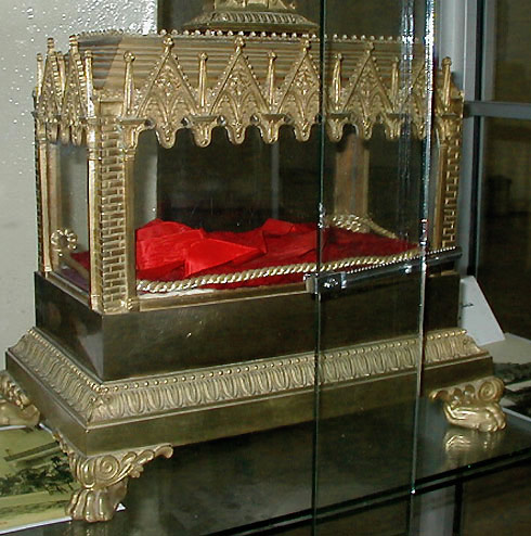 Reliquary of 1842 at Hippo