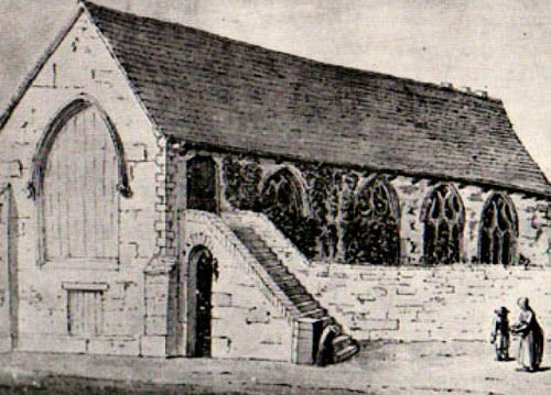 Rye's Augustinian foundation in 1364 to 1538; since altered