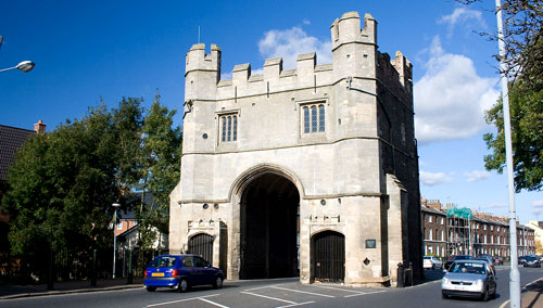 The Old South Gate at King's Lynn in Norfolk, England