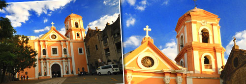 San Agustin, Manila. Diego de Hererra knew the earlier church there.