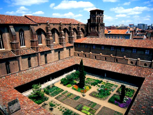 Augustinian monastery in Toulouse until the French Revolution
