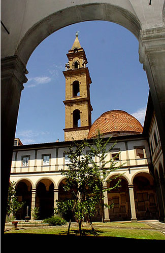 A part of the former Santo Spirito monastery