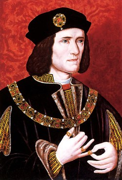 Richard III, king in 1483-1485