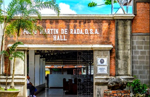 Padre de Rada Hall, used as a museum beside St Monica's Church at Panay