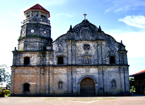 St Monica's Church on Panay Island, Philippines