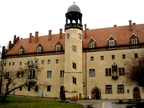 Former Augustinian monastery at Wittenberg
