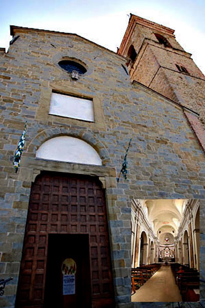 Church of St Augustine (Sant'Agostino) at Arezzo, Italy