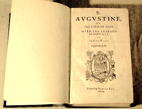 An edition of the City of God published in 1610