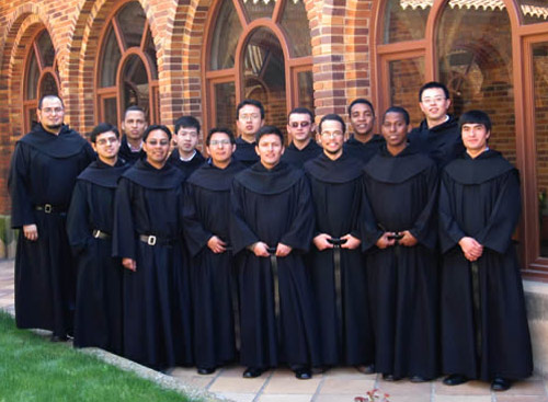 Augustinian Recollect novices at Monteaguado in Spain