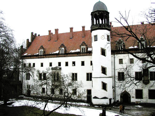 The former Augustinian monastery at Wittenberg, Germany