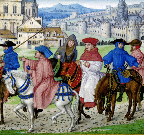 From the Canterbury Tales by Geoffrey Chaucer, published in 1475