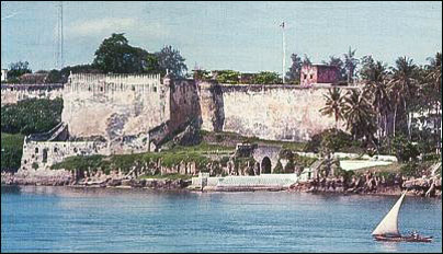 Fort Jesus, built by the Portugese, Mombasa, Kenya