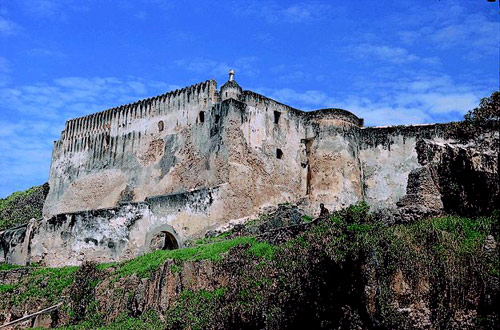 Fort Jesus, built by Portugal, Mombasa, Kenya