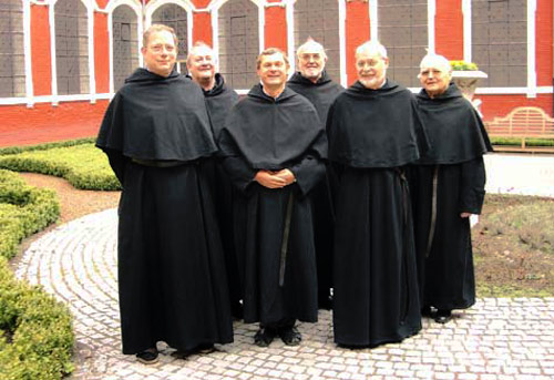 Some Belgian Augustinian friars