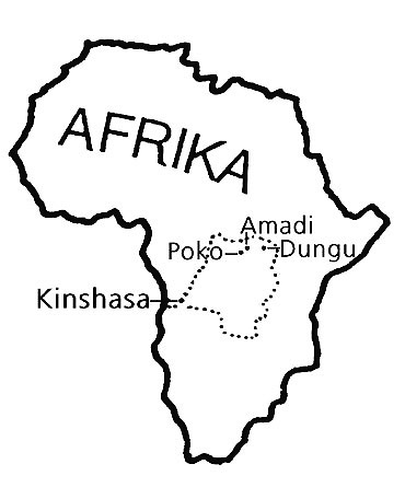 The four Augustinian Congo locations