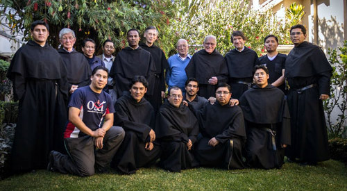 Augustinians (including Dutch) and candidates in Bolivia