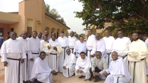 Some Nigerian Augustinians at a Eucharistic celebration