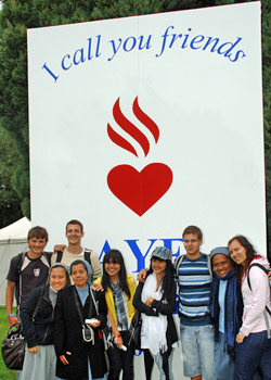 Augustinian International Encounter for Young Adults, England.