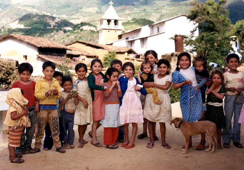 A picture of earlier Augustinian days in the Chulucanas area of Peru