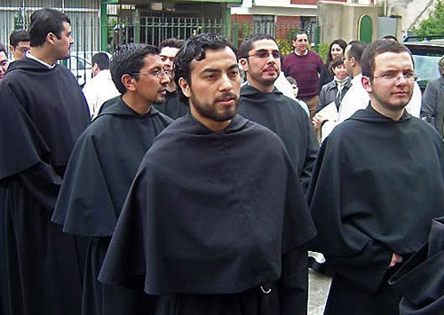 Some young Augustinians in Latin America