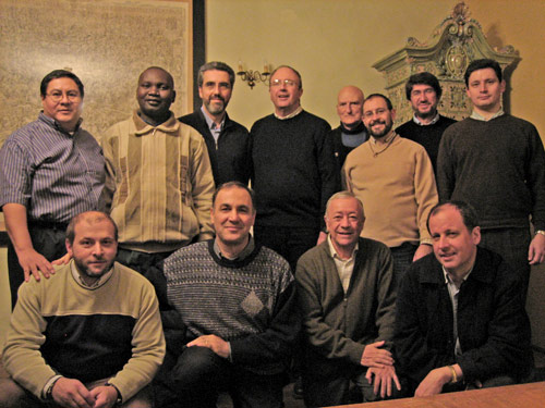 Augustinians of an international spirituality team meet in Italy