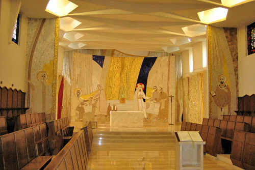 Chapel at St Monica's Augustinian international college, Rome