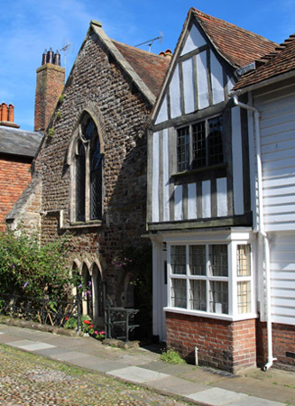 Sack Friars' former chapel and Priory, Rye