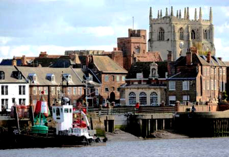 Part of King's Lynn in recent times