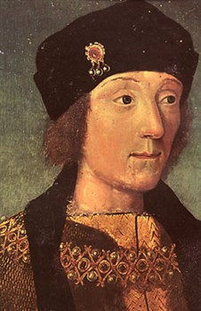 The future King Henry VII