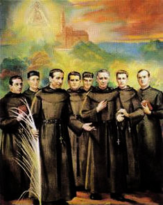 The Augustinian Spanish martyrs