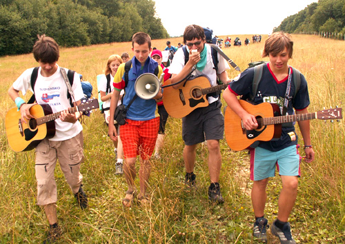 Day pilgrimage by Augustinian youth in Slovakia